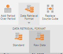 Change the format from the Metric Set Designer