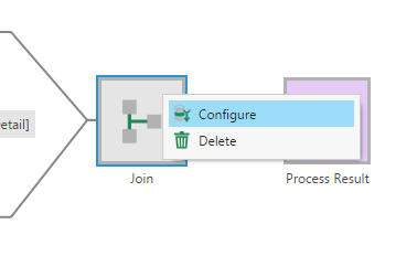 Configure Join transform