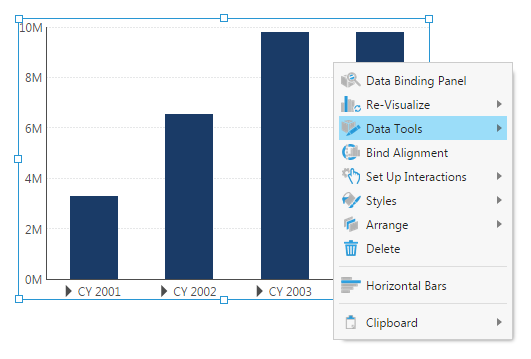 Select Data Tools