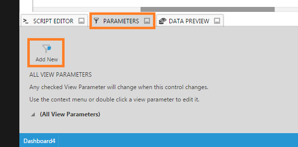 Add a new view parameter