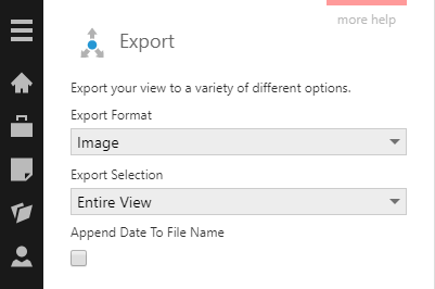 Export entire dashboard as an image
