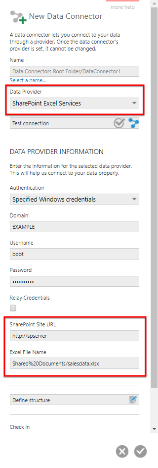 SharePoint Excel Services settings