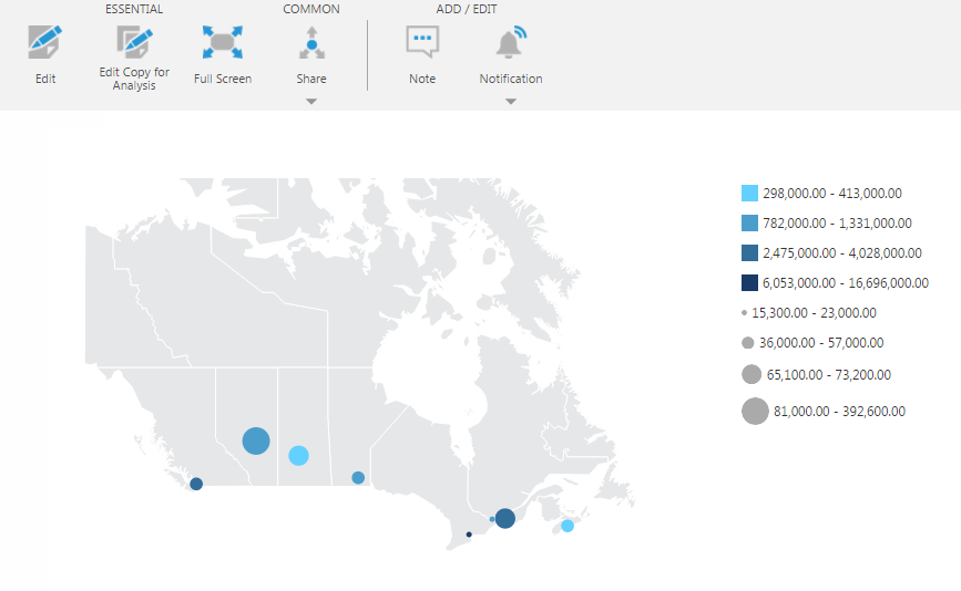 Displaying Symbols On A Map HowTo Data Visualizations - Map color legend