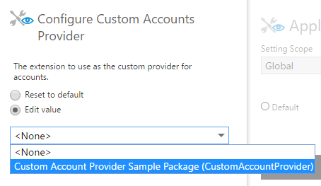 Custom Accounts Provider sample value