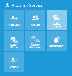 Account Service options