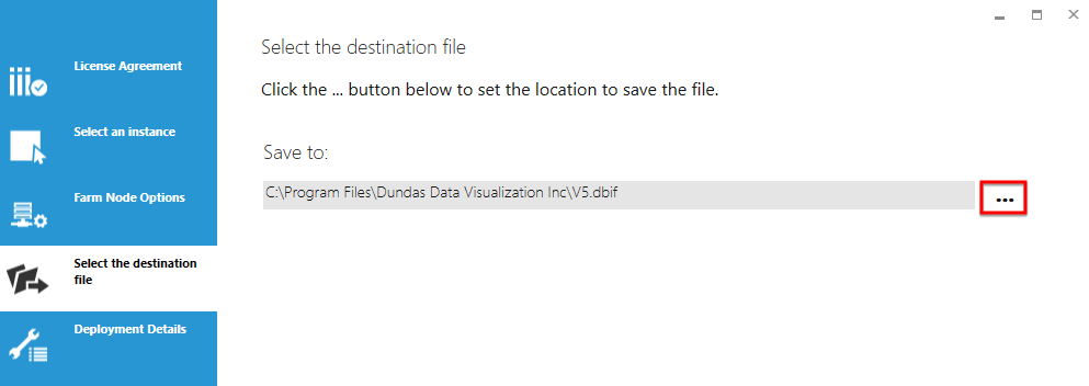 Indicate the file location