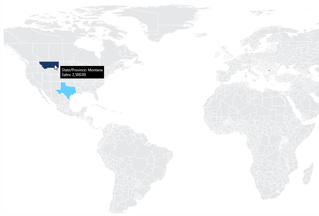 Using A Map Visualization Data Visualizations Documentation - Usa map shape