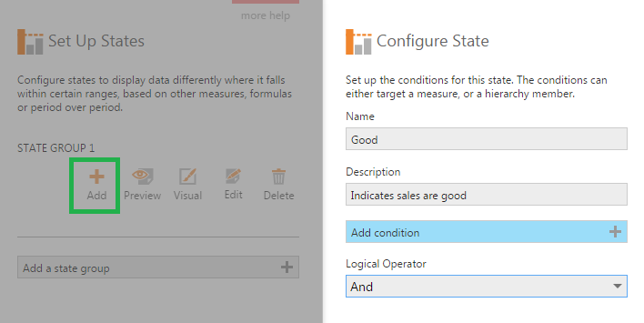 Configure state