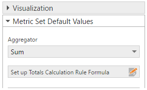 Enabling Custom total calculation