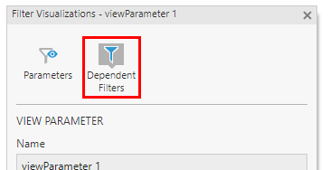 Click Dependent Filters