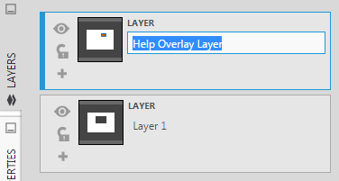 Rename the new layer