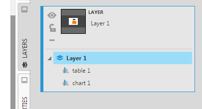 Expand the layer and select it