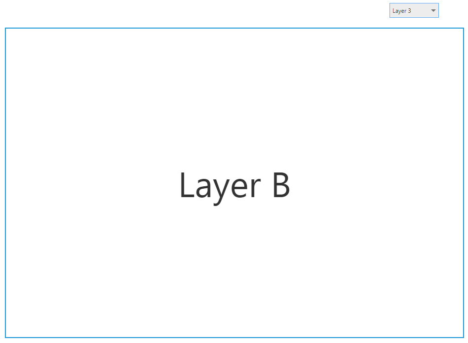 Selecting Layer 3 from the dropdown