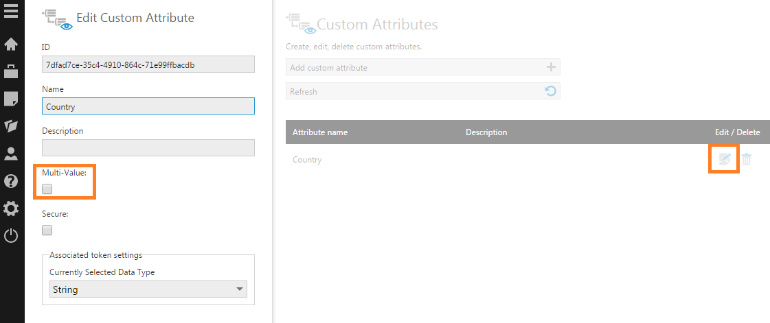 Edit the custom attribute and change it to multi-value