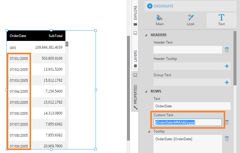 Display date only on column instead of date/time | How-To | Data