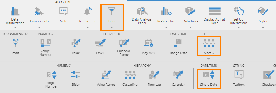 Passing parameter value from dashboard to stored procedure | How-To